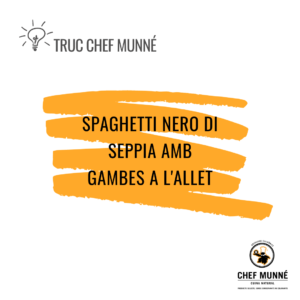 Truc Chef Munné - Gambes a l'allet